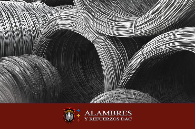 alambrón de acero para la construcción en México Alambres y Refuerzos