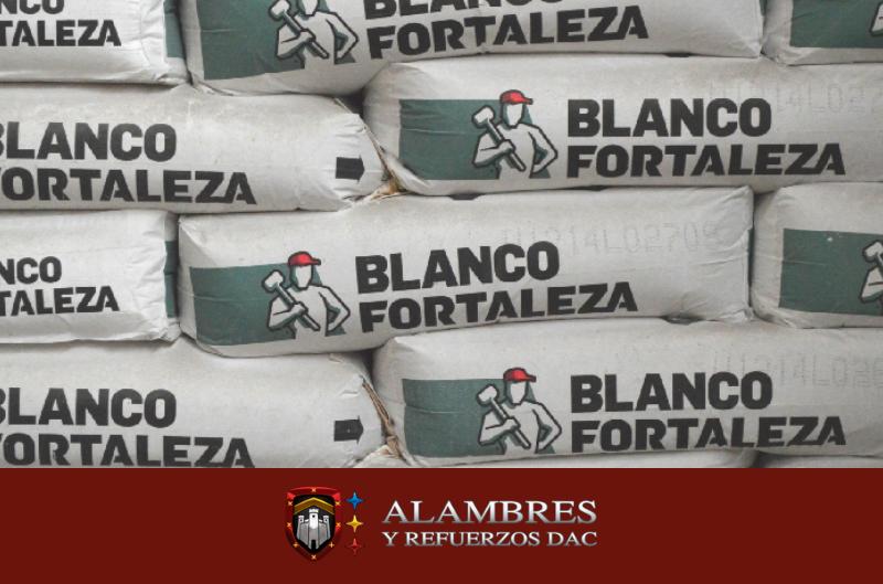 cemento blanco para muro para la construcción en México Alambres y Refuerzos
