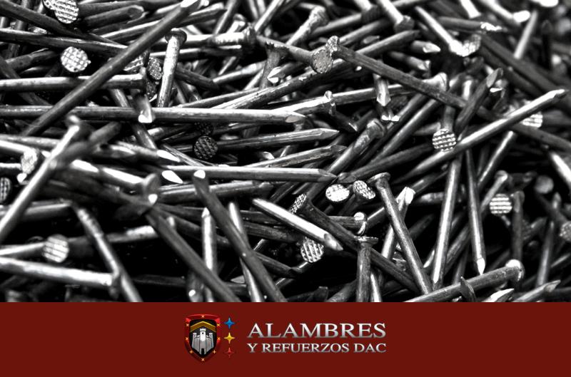 Clavo de acero y usos múltiples de Alambres y Refuersos DAC