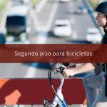 Segundo piso para bicicletas