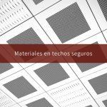 Materiales en techos seguros