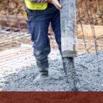 Acero y cemento en desarrollo de vivienda