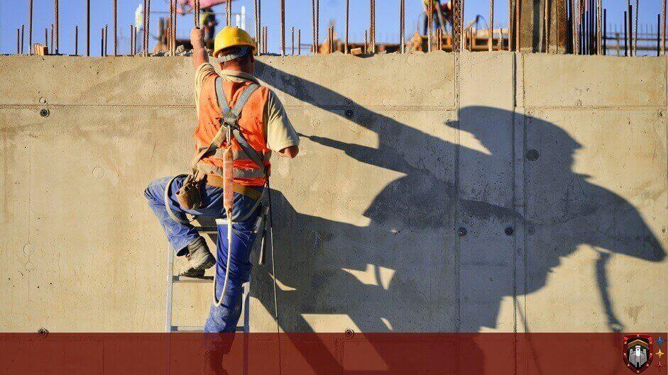 empleados de la construcción