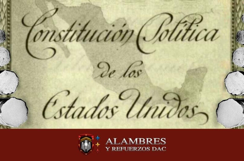 el acero en la constitución mexicana