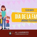 15 de Mayo: Felicidades a las familias